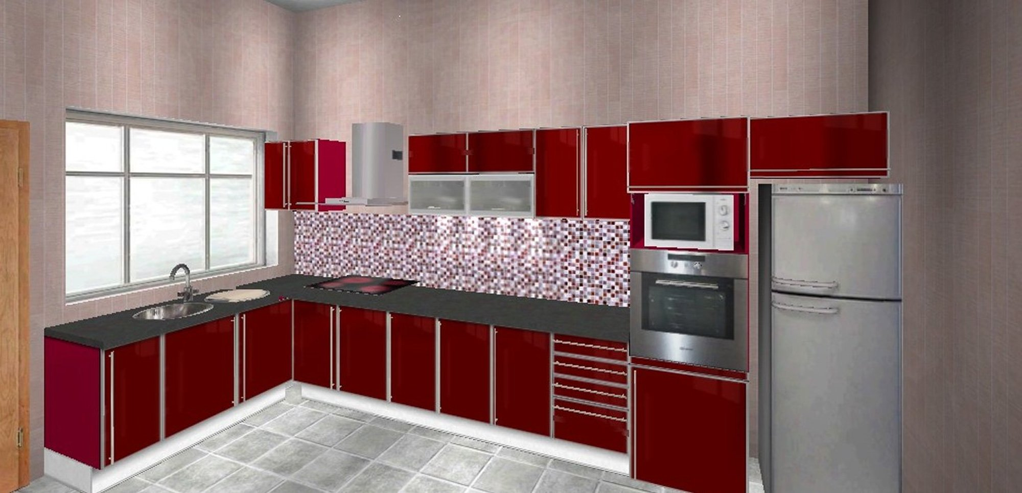 Aluminium Kitchen Cabinets Qatar Local Businesses Product By Kitchens Show