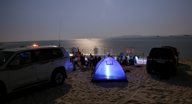 Adventure Camping In Qatar