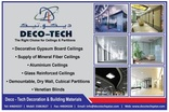 DECO - TECH DECORATION & BUILDING MATERIALS